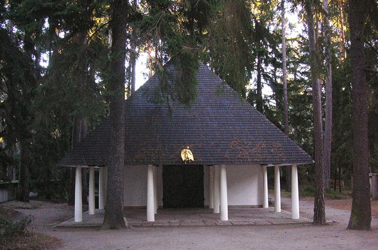kapell begravning