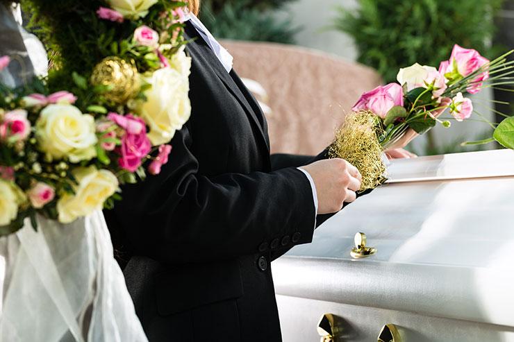 vett och etikett vid begravning